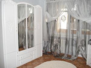 Двухъярусная кровать или двухъярусные кровати в номере Center Apartment Tiraspol