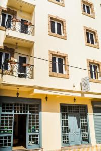 The facade or entrance of Résidence Louzani