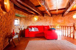 The lounge or bar area at Moinho da Camila