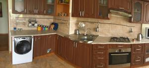 Kuchnia lub aneks kuchenny w obiekcie Apartment Erkindick