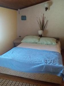 A bed or beds in a room at Apartman Cvijanović
