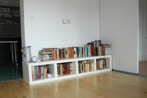 Knjižnica v apartmaju