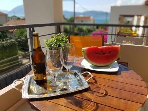 A balcony or terrace at Villa Vanessa