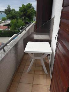 A balcony or terrace at Apartments Jaram