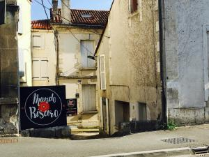 The facade or entrance of Mondo Bisaro