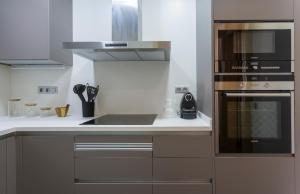 A kitchen or kitchenette at Apartment Major 33