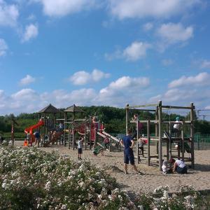 Zona de juegos infantil en Summertime Gdańsk Jelitkowski Dwór