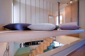 A bunk bed or bunk beds in a room at Casa Christina
