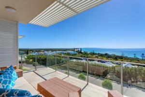 A balcony or terrace at Apartment Dees Retreat