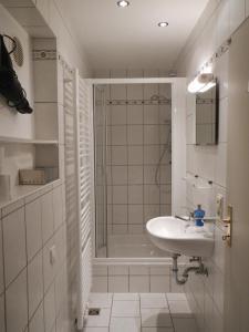 Ein Badezimmer in der Unterkunft Ferienwohnung Späth