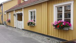 Patio tai muu ulkotila majoituspaikassa Lilla Munkhagen