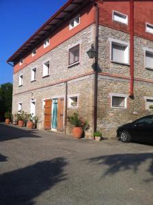 """The facade or entrance of appartamento """"GLI ANGELI"""" Casola Valsenio"""