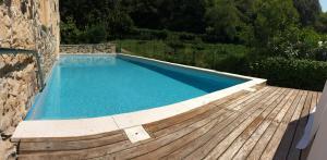 The swimming pool at or near Villa Sogara