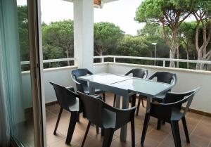 A porch or other outdoor area at Sa Txica Apartment
