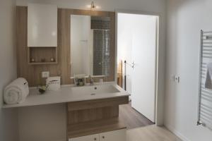 Salle de bains dans l'établissement Domitys Le Millésime