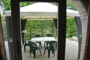 A porch or other outdoor area at Appartement La Poulotte