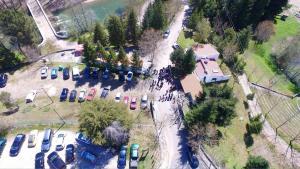 A bird's-eye view of Parque de Campismo Municipal de Bragança