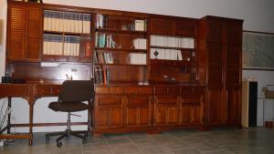 Espace de conférence ou salle de réunion dans l'établissement Gîte du Corupsis