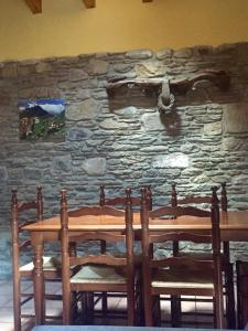 A restaurant or other place to eat at Paller Cal Melsio