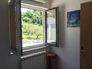 Pogled na vrt iz nastanitve Apartments Lili oz. okolice