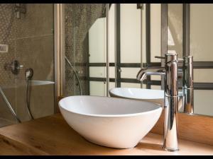 Ein Badezimmer in der Unterkunft Authentic apartment in Acre