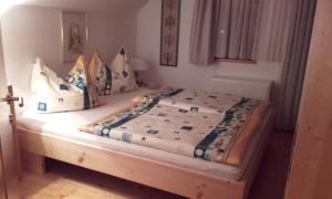 Cama o camas de una habitación en Die Buche