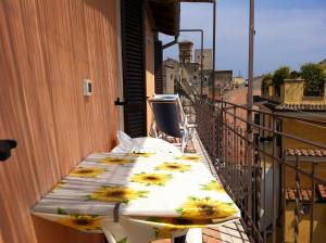 A balcony or terrace at Apartment Storico