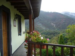 A balcony or terrace at Casa Maseda