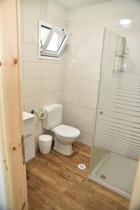 Ein Badezimmer in der Unterkunft Mansion Don Leone