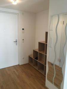 A television and/or entertainment center at DC Living Donaucity