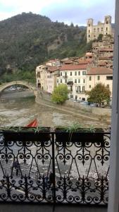 A balcony or terrace at Al Ponte Vecchio