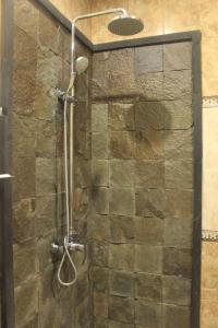 Salle de bains dans l'établissement Alit Bali Villa