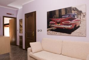 A seating area at Residence Corona Grossa