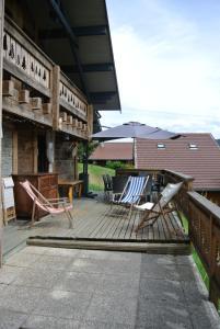 Terrasse ou espace extérieur de l'établissement Clarines
