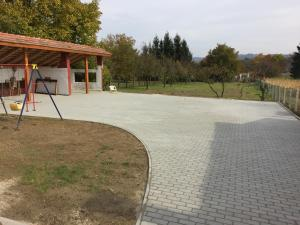 Children's play area at Amarilisz Vendégház