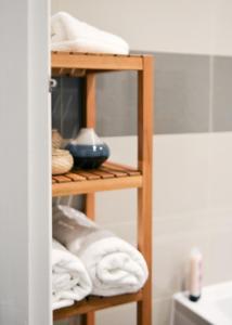 Ein Etagenbett oder Etagenbetten in einem Zimmer der Unterkunft Hove Lodge