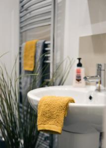 Ein Badezimmer in der Unterkunft Hove Lodge