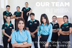 Staff members at Krabi Beach House
