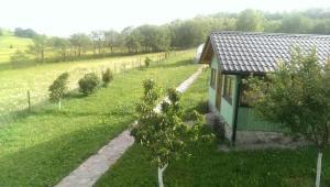 A garden outside Vacation home Oaza
