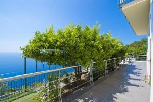 A balcony or terrace at Casa Lisuccia
