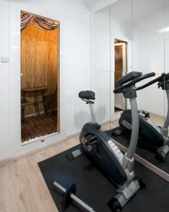 The fitness center and/or fitness facilities at Quirón Apartment
