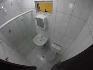A bathroom at Casa - Estaleirinho - Balneário Camboriú