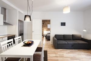 Atpūtas zona naktsmītnē Apartments in Riga