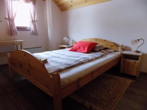 Postelja oz. postelje v sobi nastanitve Apartment Zeleni dragulj Pohorje