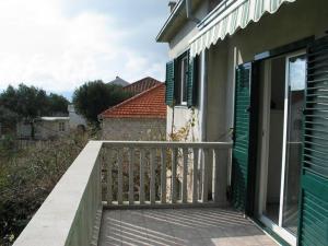 A balcony or terrace at Maja's Apartment