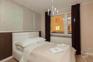 A bed or beds in a room at Apartment Royal II