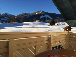 Appartement Alpenblume during the winter