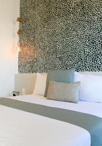 Ένα ή περισσότερα κρεβάτια σε δωμάτιο στο Astropalia