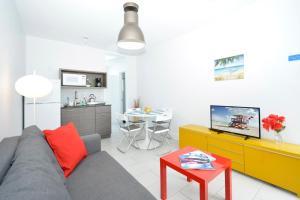 Area soggiorno di Miami Beach Byron Suites