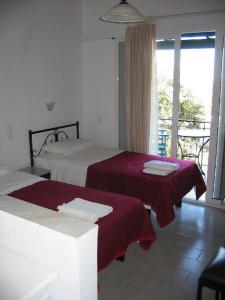 Krevet ili kreveti u jedinici u objektu Villa Fiorita